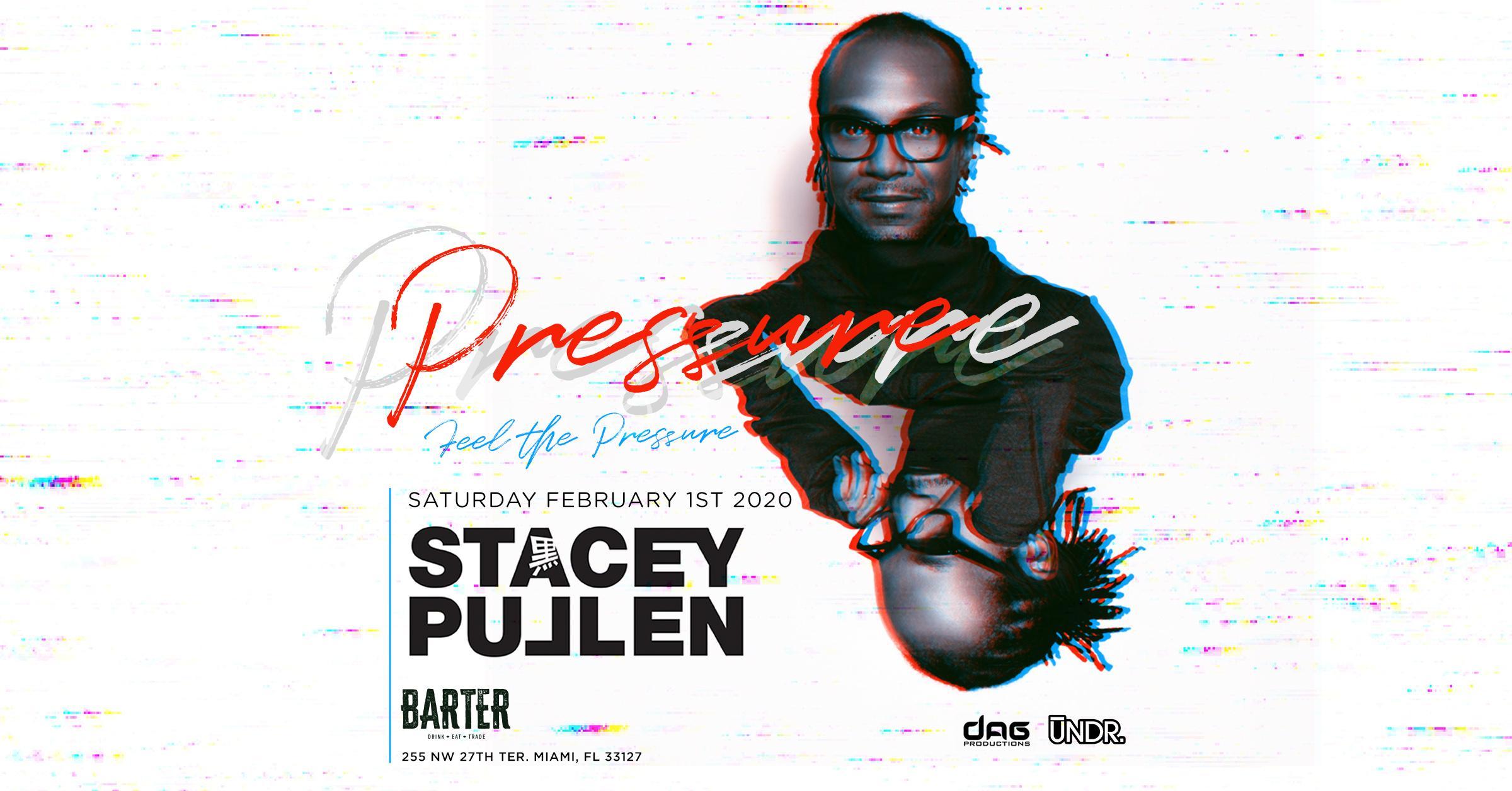 DJ Stacey Pullen at Barter Wynwood