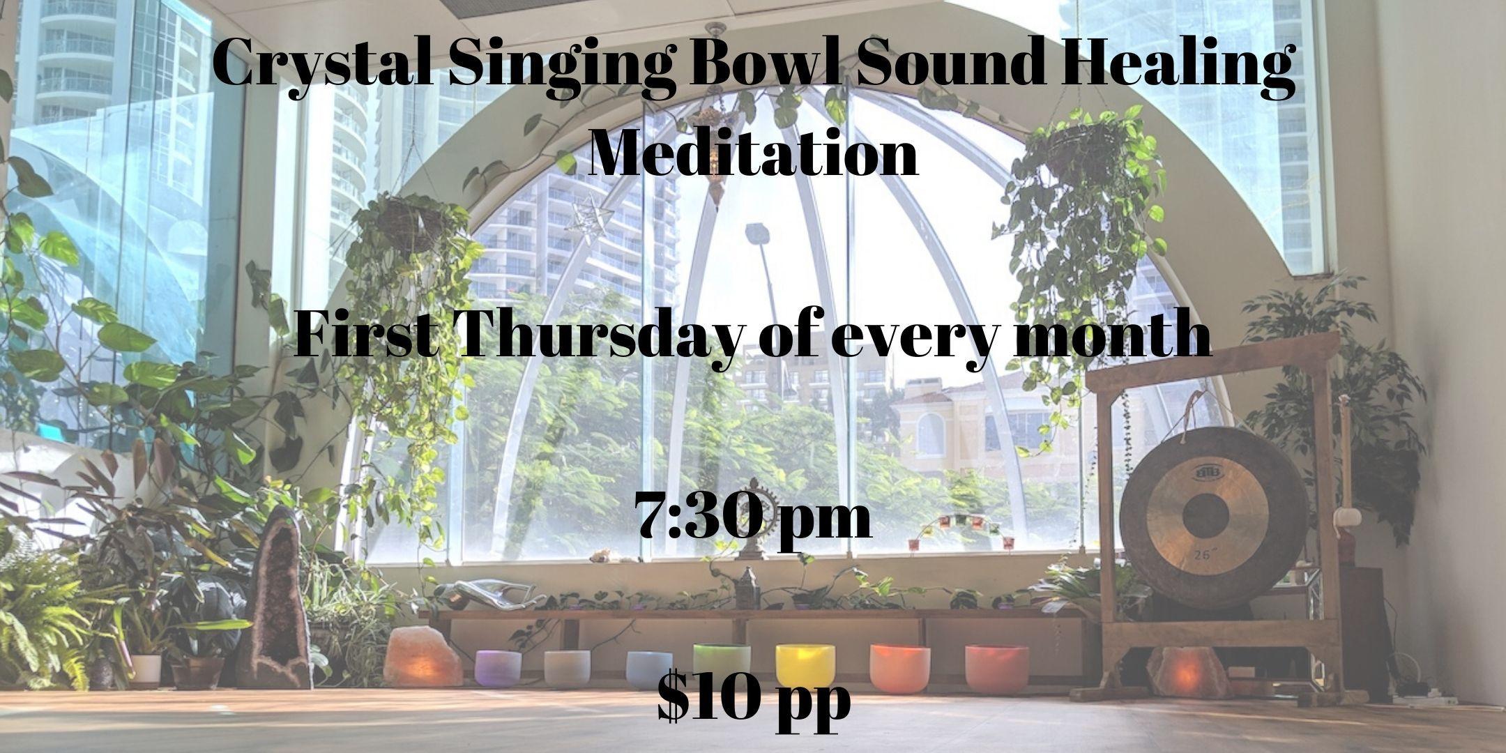 Crystal Singing Bowl Sound Healing Meditation