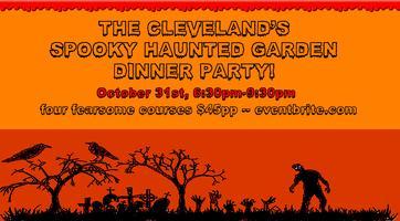 Spooky Haunted Garden Dinner