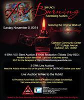 SM-LAC's Art Burning Fundraising Auction