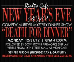 New Year's Eve Dinner Show: Death for Dinner