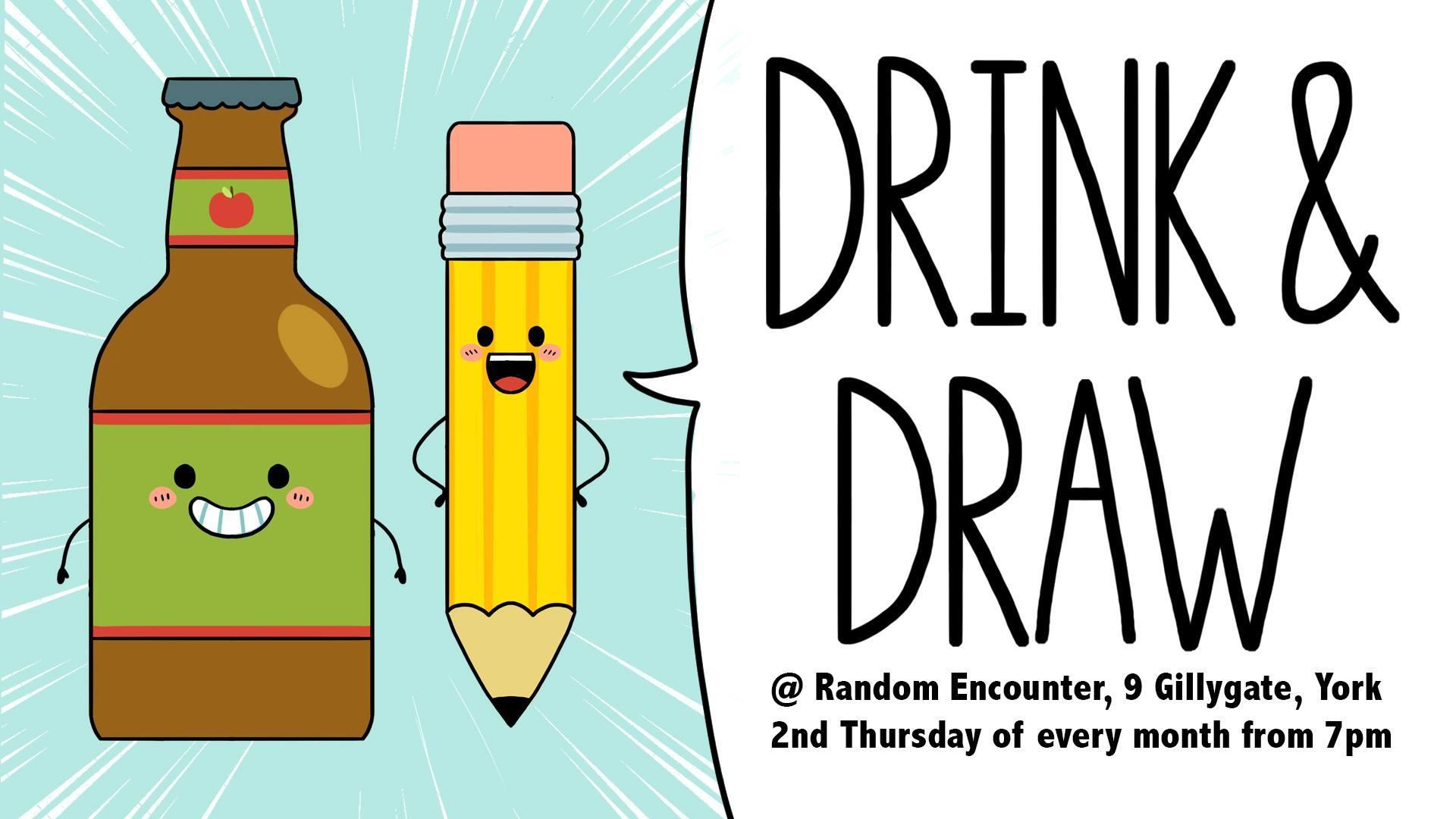 Drink & Draw @ Random Encounter