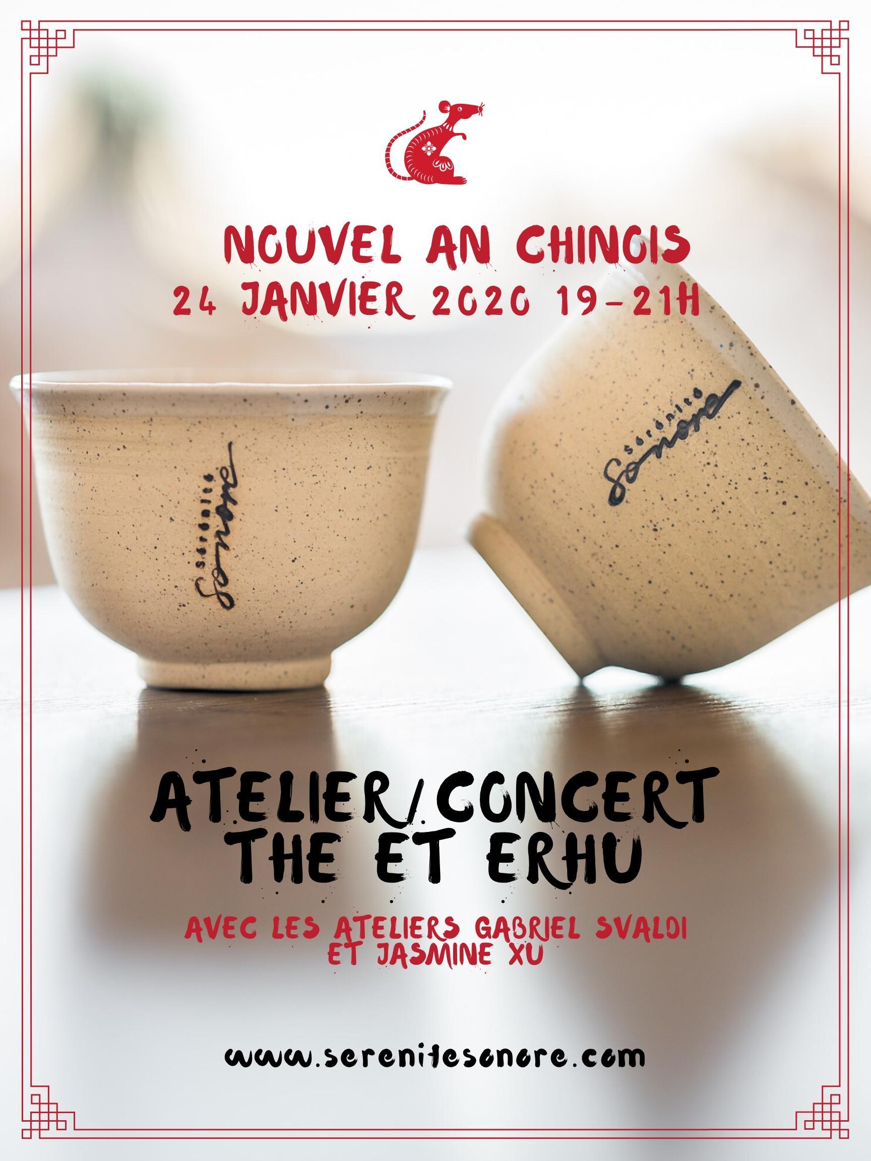 Nouvel An chinois / atelier sur le thé + concert de erhu