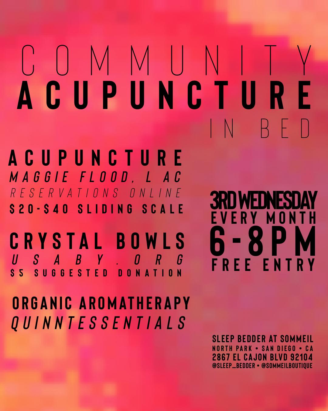 Community Acupuncture