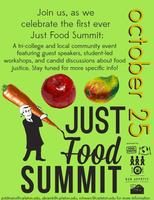 Just Food Summit: A Tri-College Food Justice Day of...