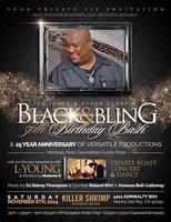Joe Jones - BLACK & BLING 50th Birthday Bash