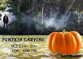 Free Pumpkin Carving @ Beerhouse