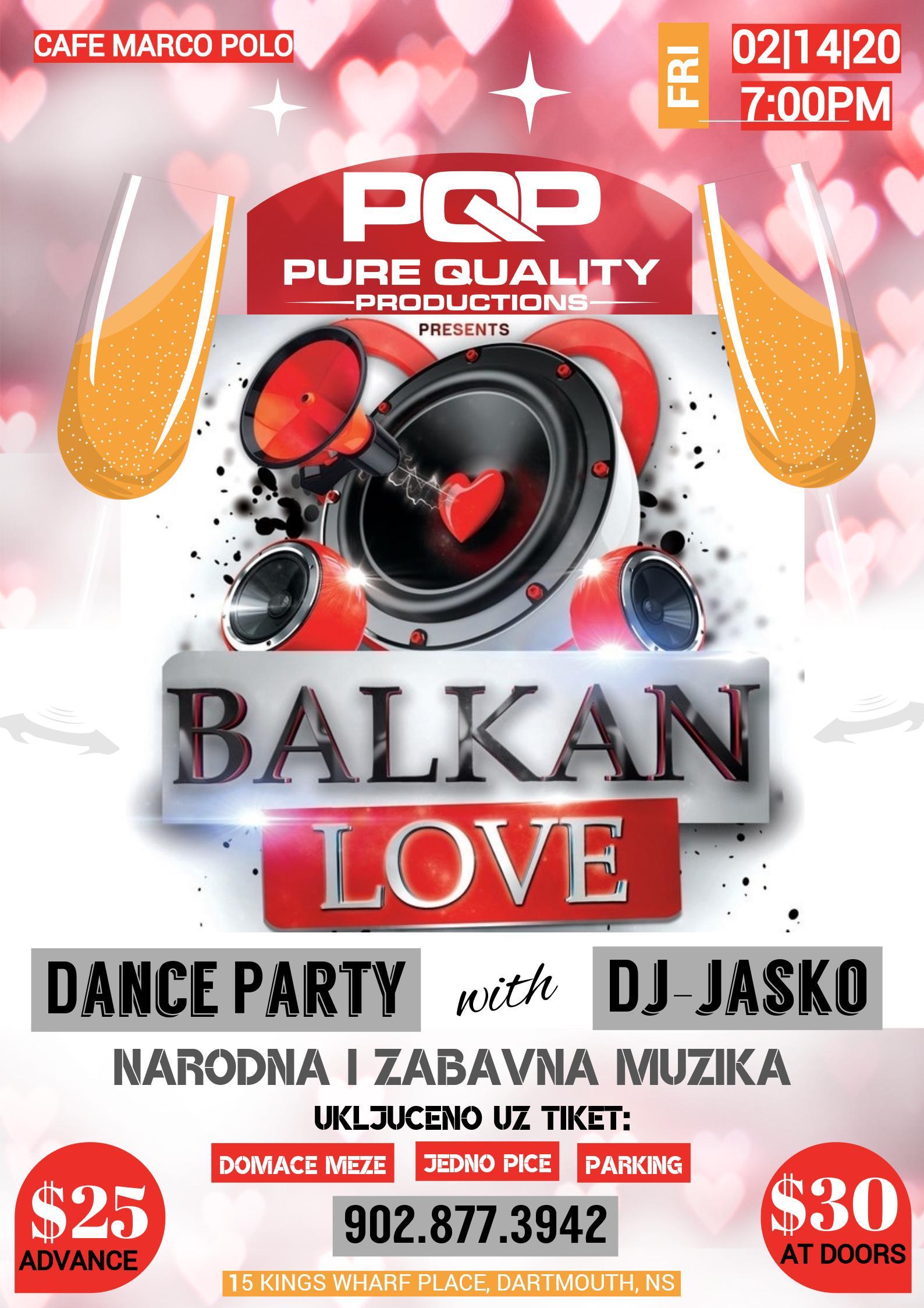 Balkan Love: Dance Party with Dj-Jasko