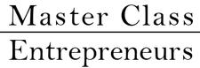L'équipe Master Class Entrepreneurs logo