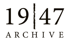 The 1947 Partition Archive logo