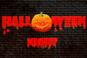 HALLOWEEN NIGHT COSTUME PARTY                        &...