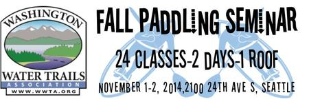 Fall Paddling Seminar: 24 Classes, Two Days, One Roof!