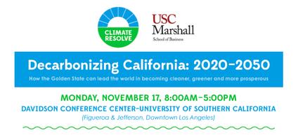 Decarbonizing California: 2020 to 2050