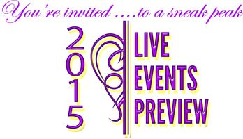 2015 Live Events Preview Lunch