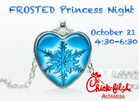 A Magical Night of fun, at our Frosted Princess Night!