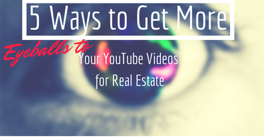 NO FEE Webinar: 5 Ways to Get Eyeballs to Your YouTube...