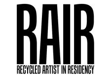 RAIR (Recycled Artist In Residency) logo