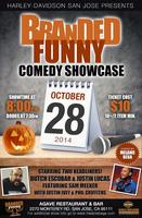 Branded Funny Comedy A Halloween Show Party!
