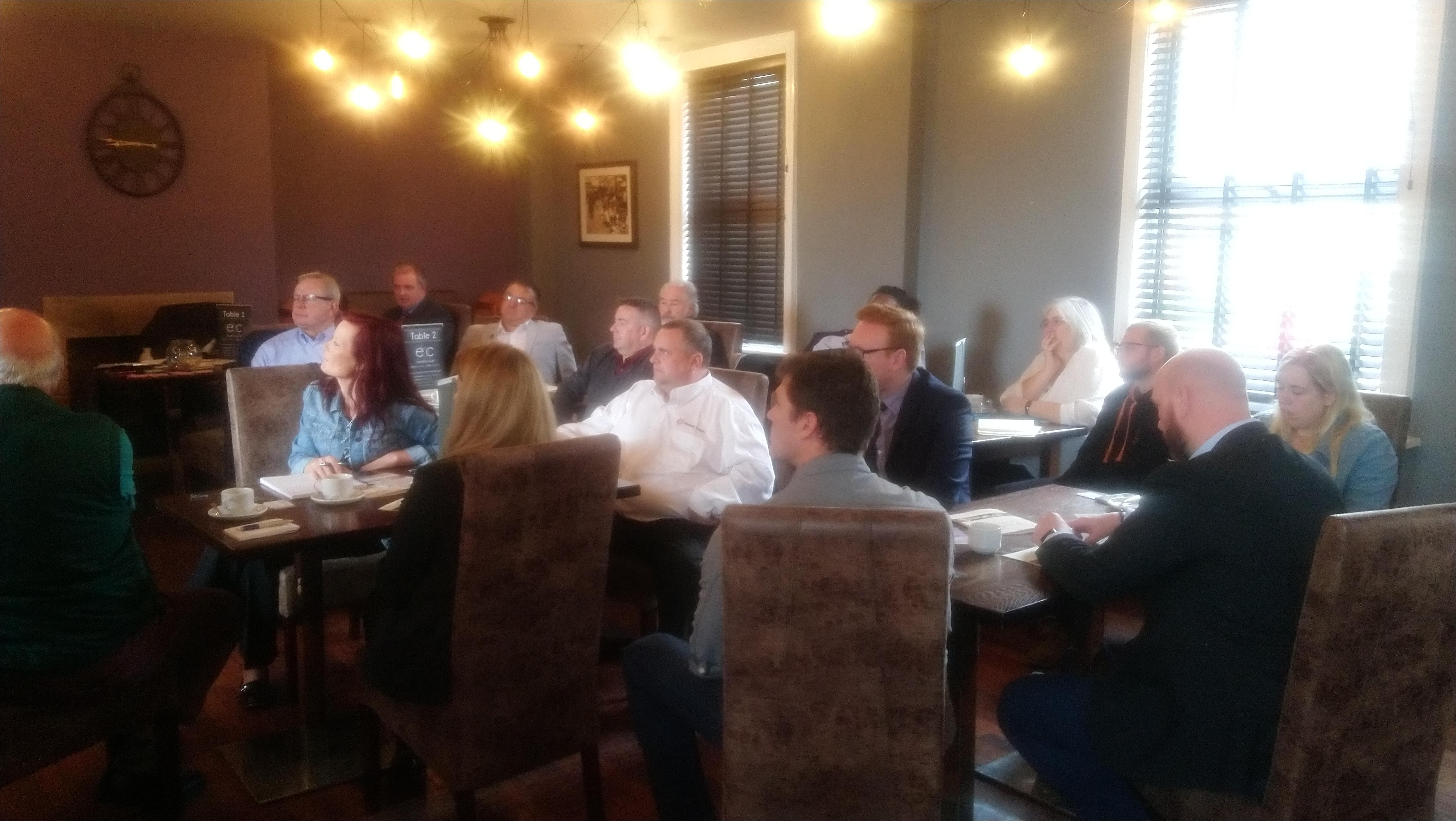 Entrepreneurs Business Club Sheffield Networking - 23 July
