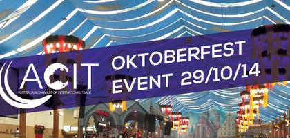 Oktoberfest Networking event:   Food and Beverage...
