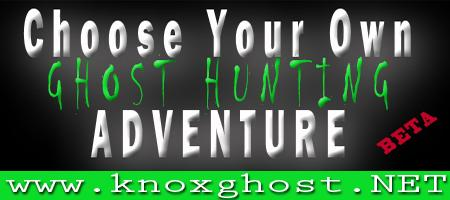 OCTOBER 12th, PRIVATE - Ghost Hunting Adventure! - 8pm