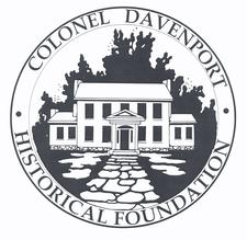 Colonel Davenport Historical Foundation logo