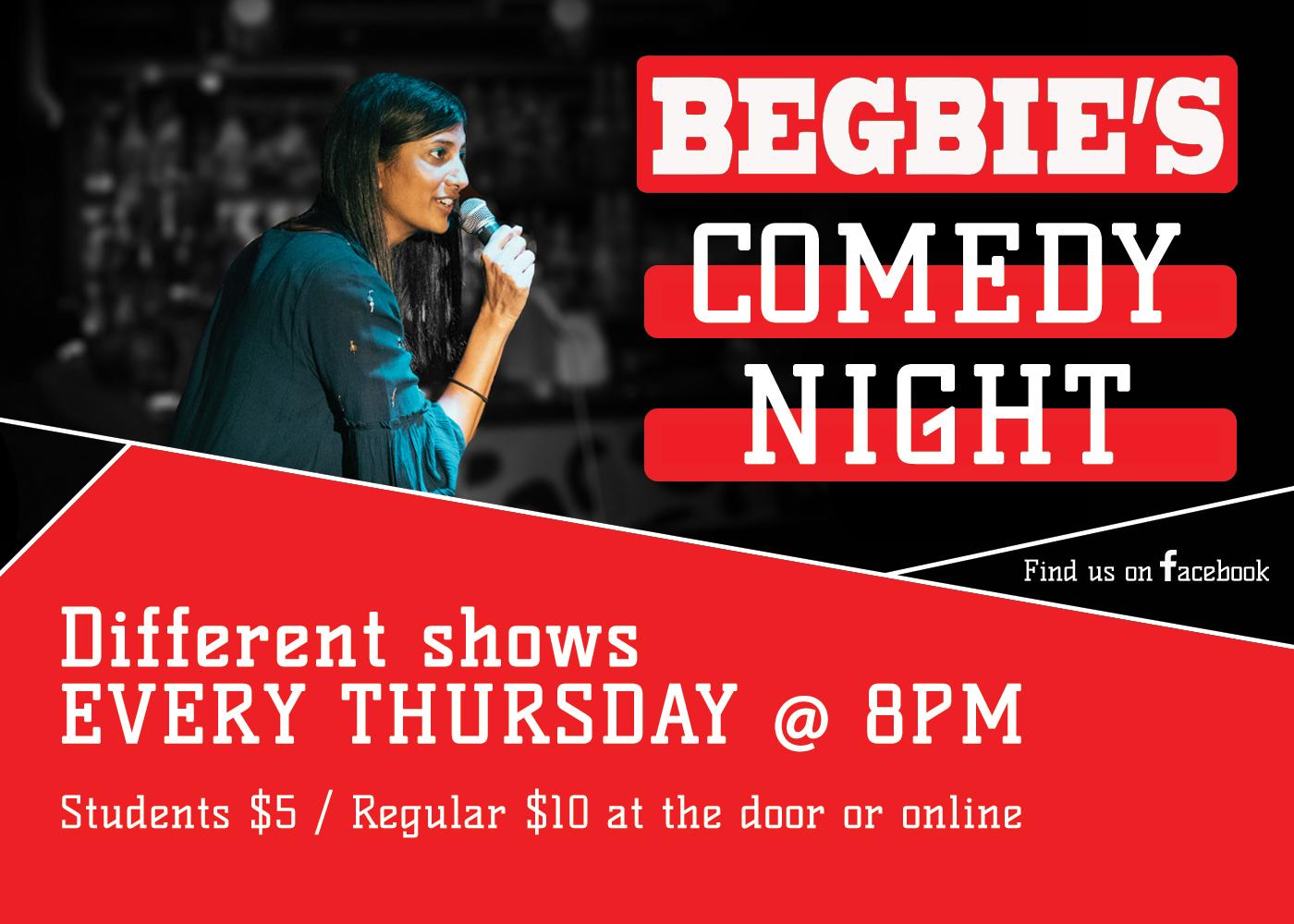 Begbie's Comedy Night