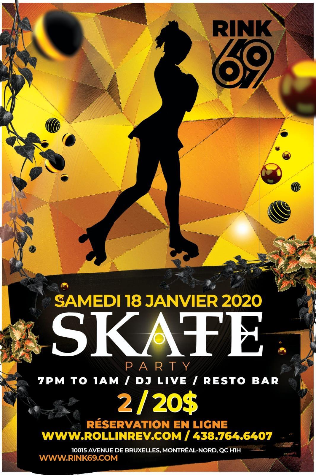 Complexe 98 Monreal - Roller Skate Party