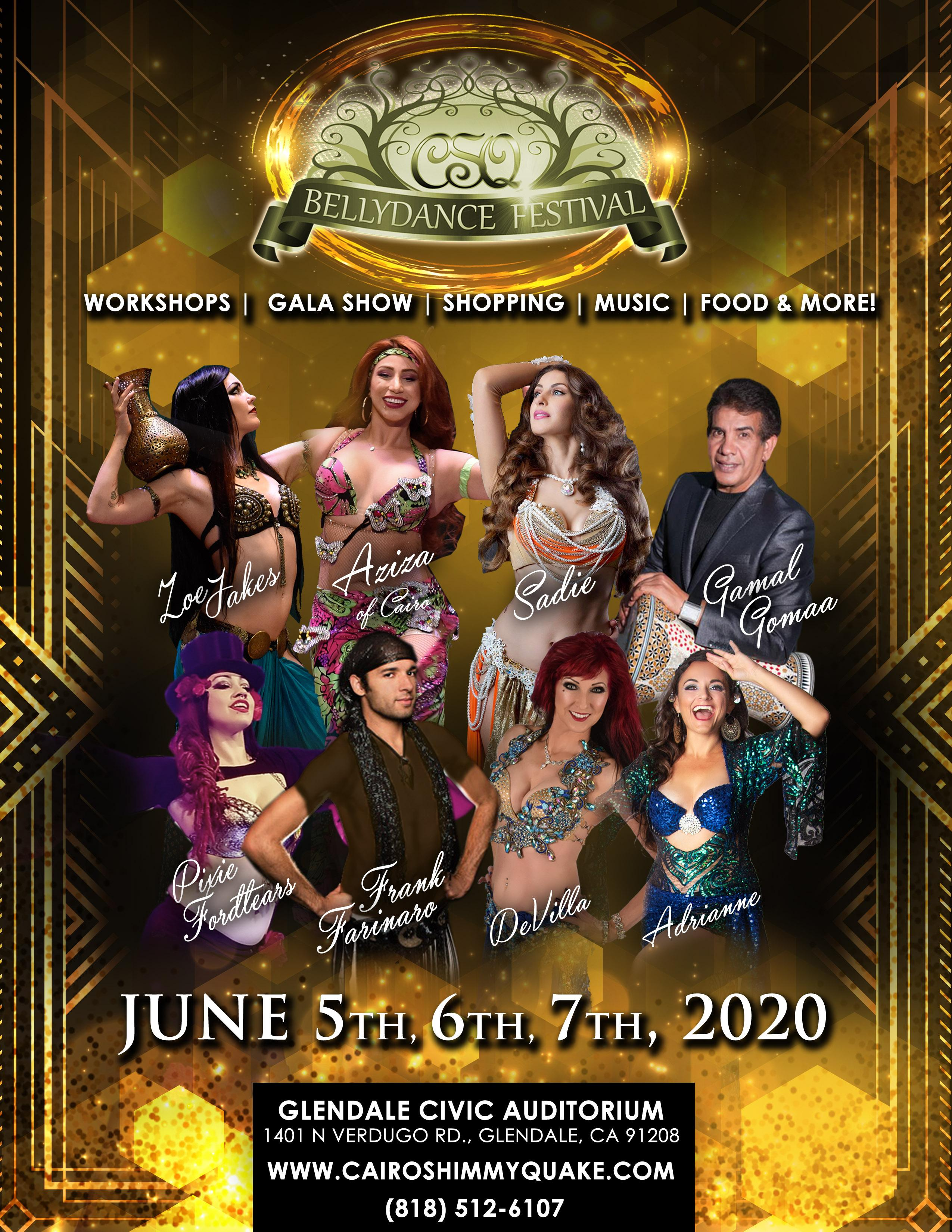 C.S.Q 2020 Belly Dance Festival!