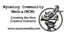 Wyoming Community Media (WCM) logo