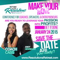 5th Annual Inspire Many Resolutions Retreat: Make Your...