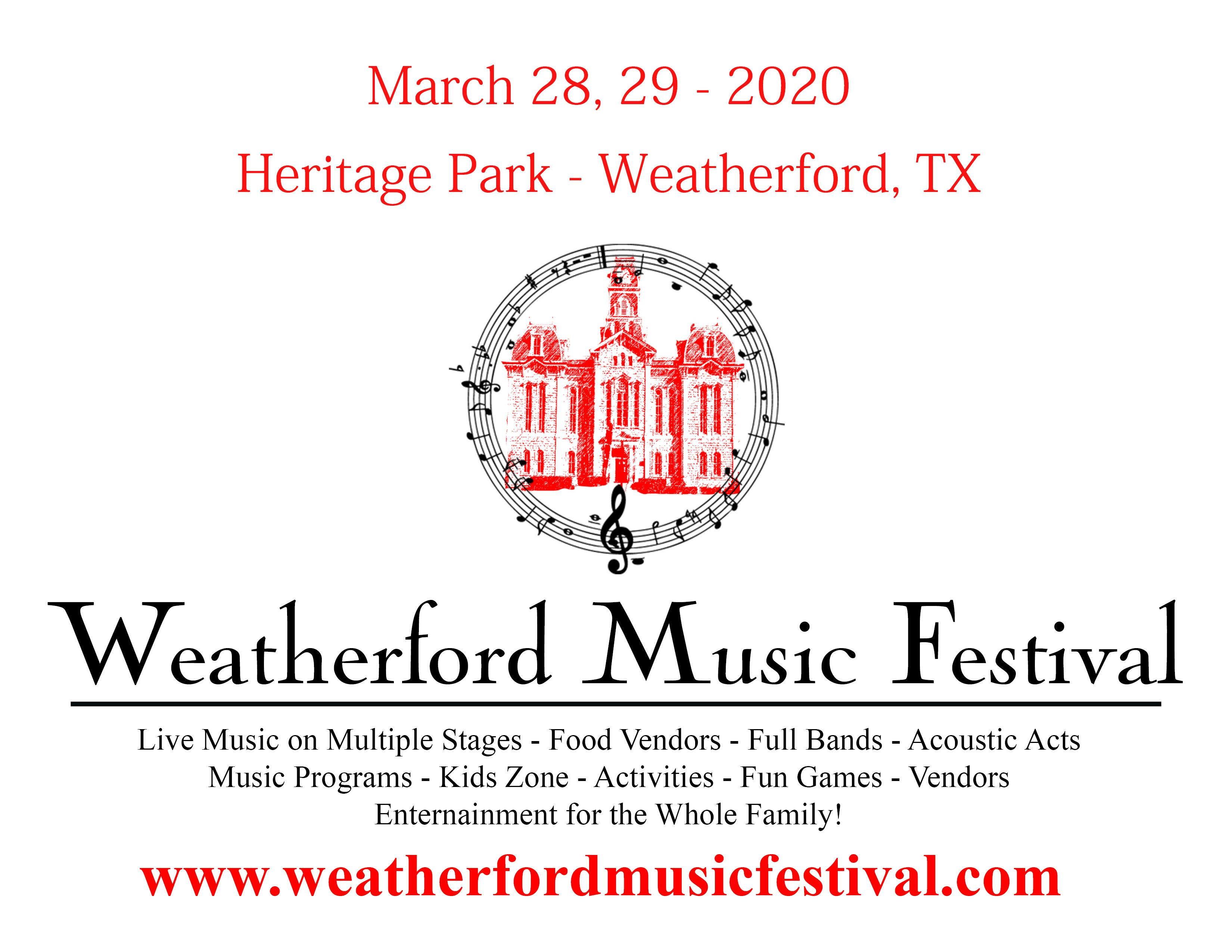 Weatherford Music Festival