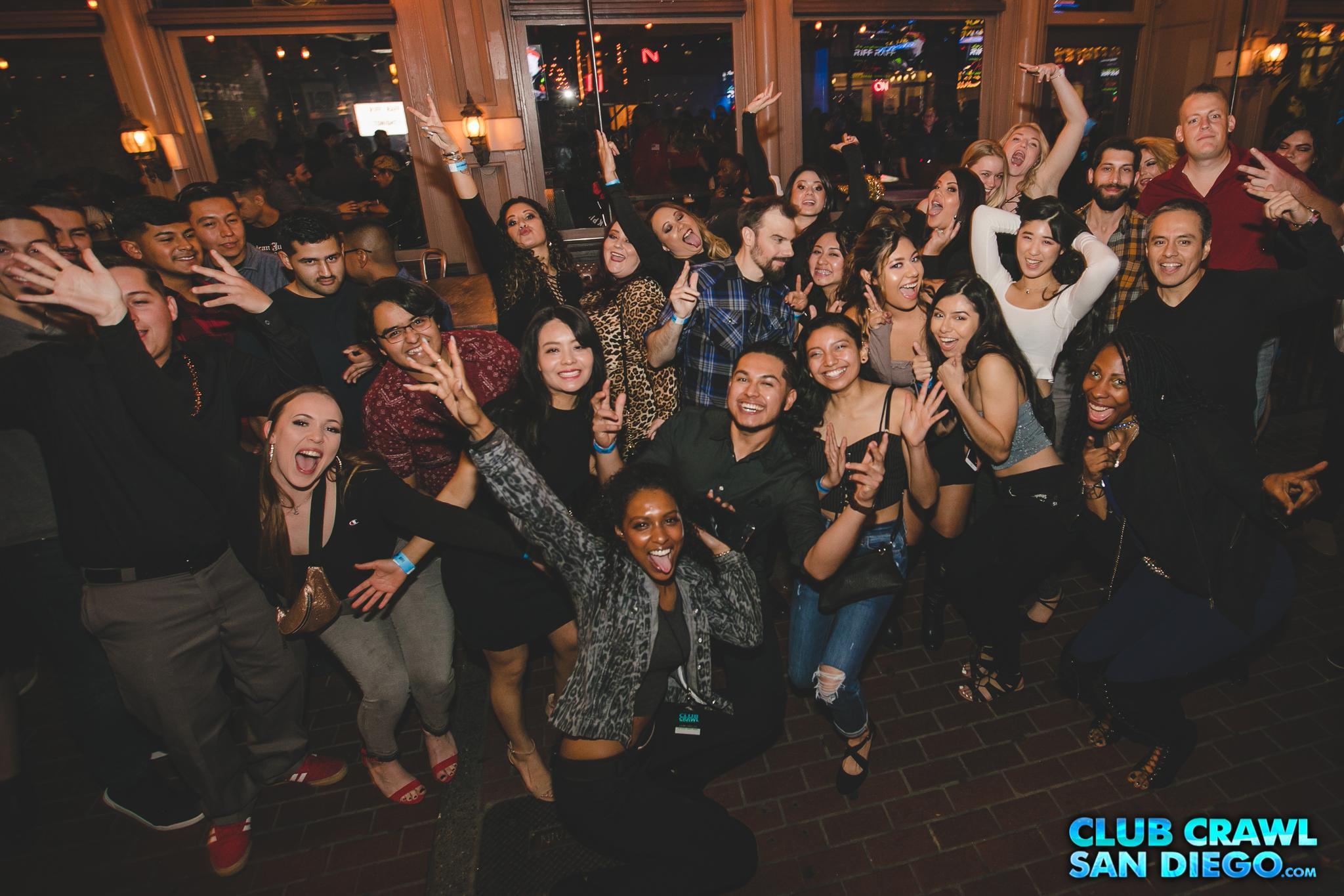 San Diego Club Crawl - Guided Bar and Nightclub Crawl
