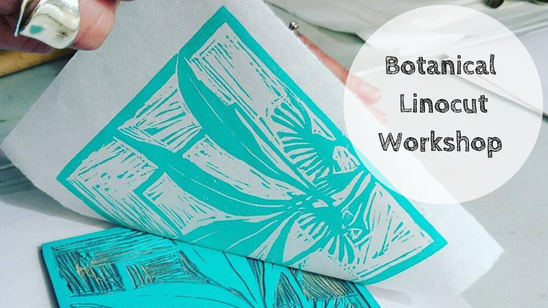 Art Class : Botanical Linocut Workshop