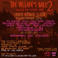 The Villain's Ball 2 Concert and Costume Party
