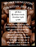 Java Jog for the DR (5K run/walk)