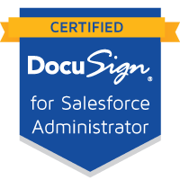 DocuSign for Salesforce Administrator Certification...
