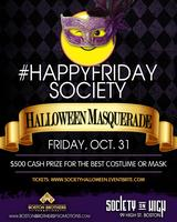#HappyFridaySociety Halloween Masquerade