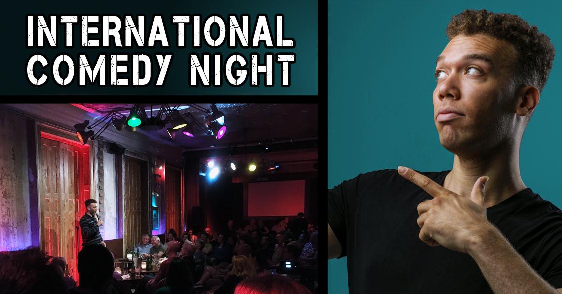 Frankfurt English Comedy Night!