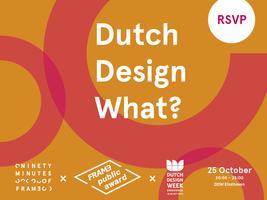 Dutch Design What?