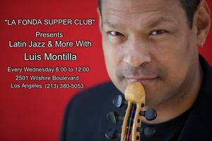 Latin Jazz and More with LUIS MONTILLA