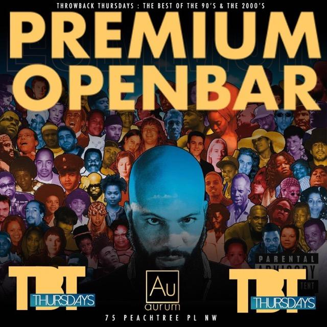 TBT Thursdays @ Aurum Lounge