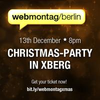 Webmontag Berlin Christmas-Party - 13th December -...