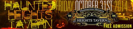The Haunted Heights Tavern Halloween Party NYC