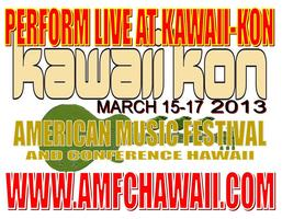 Perform Live @ Kawaii-kon with American Music Fest & Conf...