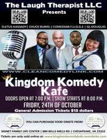 The Laugh Therapist presents Kingdom Komedy Kafe