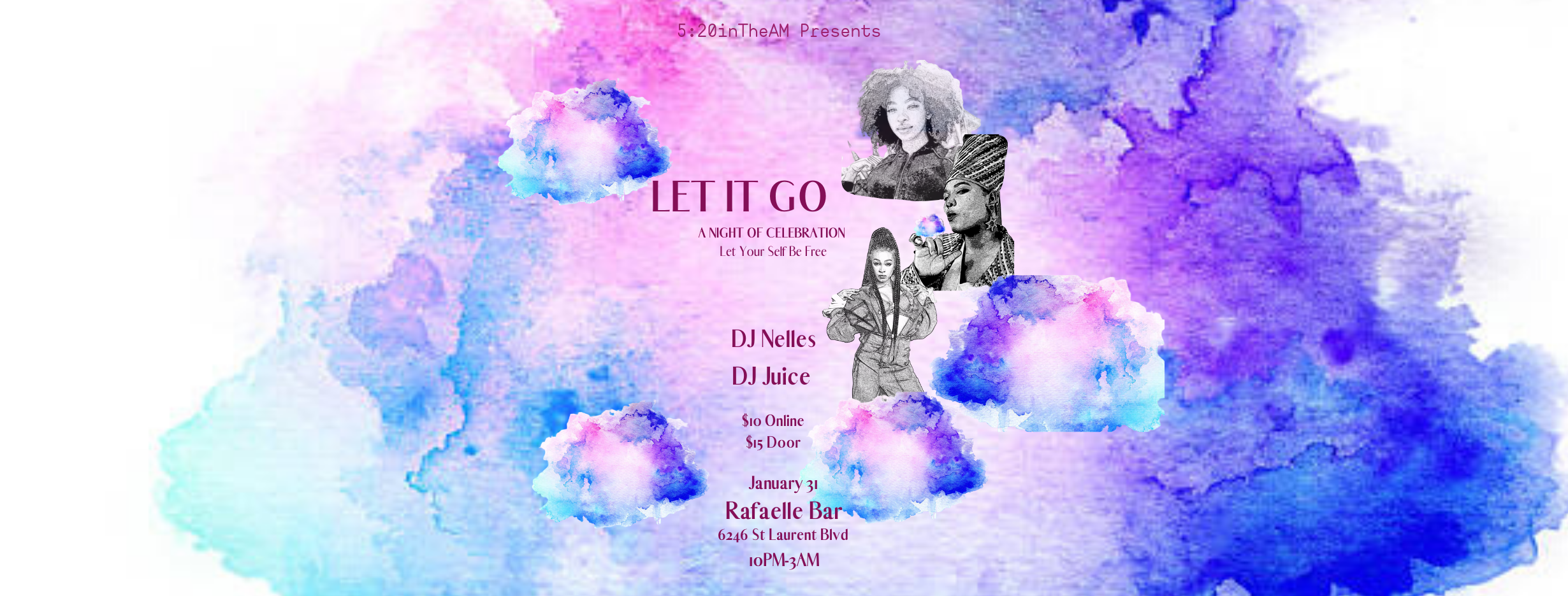 5:20inTheAM Presents: LET IT GO