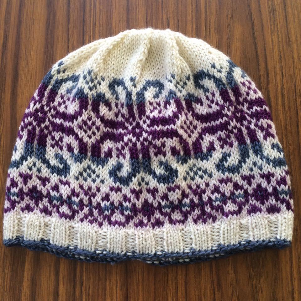 Fair Isle Hat Knitting - February 2020