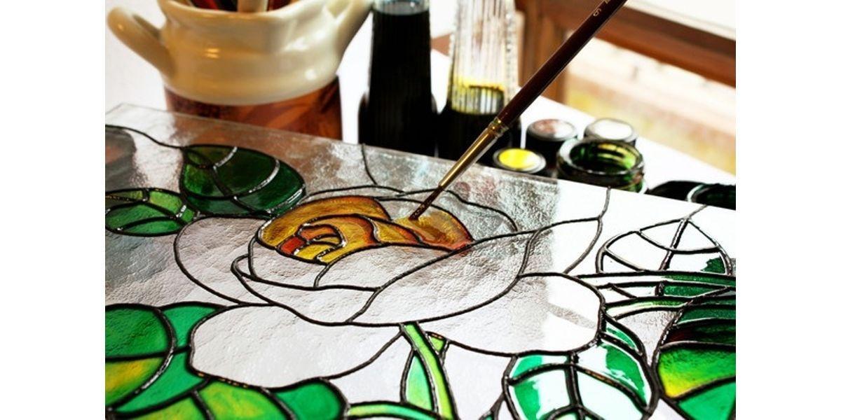BYOB: Wine Glass or Mason Jar Painting taught by Artist Alicia Londos (01-30-2020 starts at 6:30 PM)