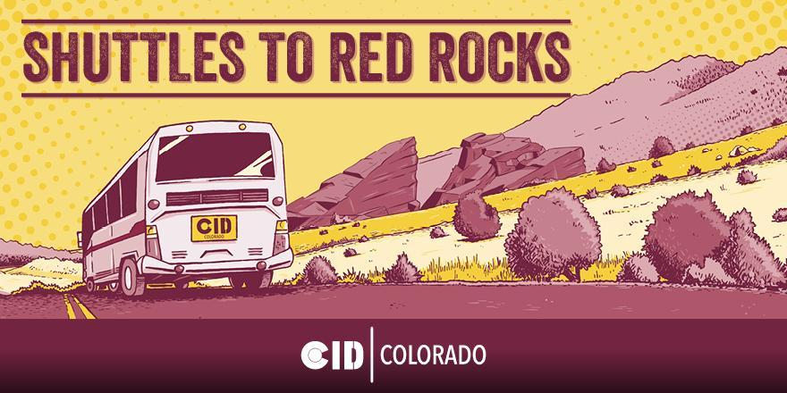 Shuttles to Red Rocks - 7/2 - Zeds Deads
